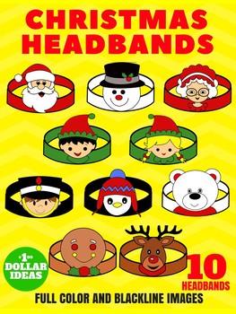 10 CHRISTMAS HEADBANDS | CHRISTMAS CRAFTS FOR KIDS