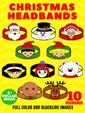 10 CHRISTMAS HEADBANDS | CHRISTMAS CRAFTS FOR KIDS