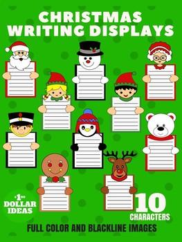 10 CHRISTMAS WRITING DISPLAYS | CHRISTMAS CRAFTS FOR KIDS
