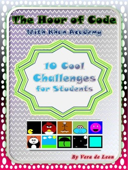 10 COOL Animation Challenges- Hour of Code with Khan Academy
