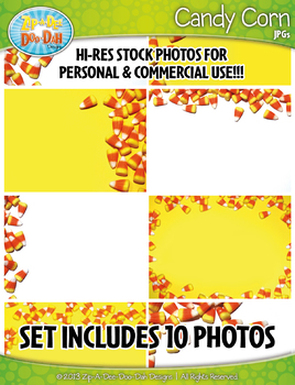 10 Candy Corn Stock Photos Pack — Includes Commercial License!
