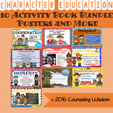 10 Character Education Activity Book Bundle