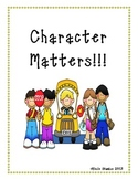 10 Character Trait Posters