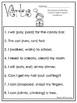 10 Choose the Correct Verb Printable Worksheets in PDF file.1st Grade-2nd Grade.