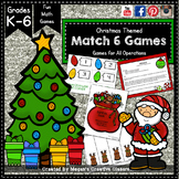 10 Christmas Math Games - printables, rules and tips included