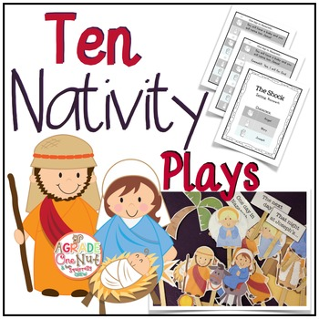 10 Christmas Nativity Plays {Reader's Theater)