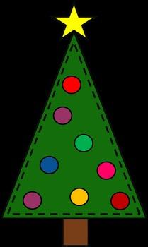 10 Christmas Trees {Clip art set}
