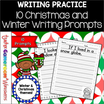 10 Christmas Writing Prompt
