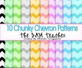10 Chunky Chevron Patterns for Commercial Use