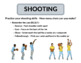 10 Classic Basketball Station Activity Signs for Physical