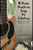 10 Classic Christmas Songs for 2 Guitars (EASY  Chords and