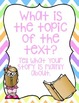 10 Close Reading Question Posters Chevron Guided Reading