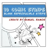 Comic Book Strips Templates (10 Styles)