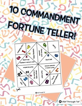 10 Commandment Fortune Teller