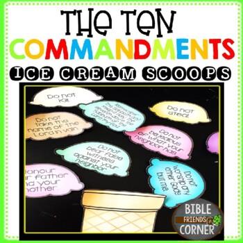 10 Commandment Scoops