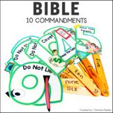 10 Commandments Activities