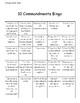 10 Commandments Bingo