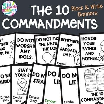 image regarding 10 Commandments Kjv Printable titled 10 Commandments Clip Artwork Worksheets Lecturers Fork out Lecturers