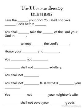 10 Commandments Bundle