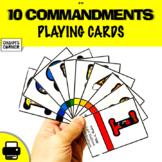 10 Commandments Cards!