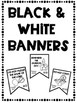 10 Commandments Color Banners and Black & White Banners Combo Set