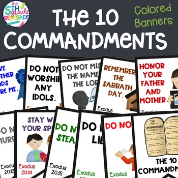 graphic relating to Kjv Ten Commandments Printable called 10 Commandments Coloring Webpages Worksheets Instruction