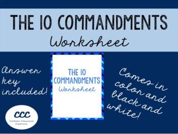 10 Commandments Gospel