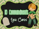 10 Commandments Task Cards