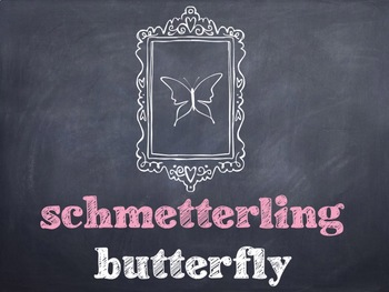 10 Common German Insects PowerPoints