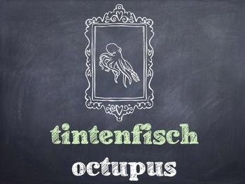 10 Common German Sea Life PowerPoint