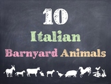 10 Common Italian Barnyard Animals PowerPoint