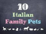 10 Common Italian Family Pets PowerPoint