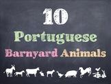10 Common Portuguese Barnyard Animals PowerPoint