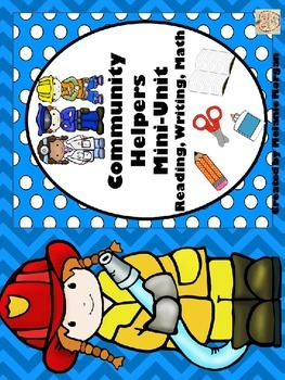 Community Helpers Mini-Unit {Reading, Writing, Math}