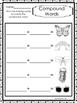 10 Compound Words Worksheets.  K-1st Grade Literacy Worksheets.