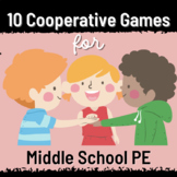 PE Cooperative Games - 10 Games for Middle School PE