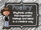 10 Cowboy Cowgirl Themed Reading Genre Posters