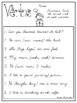 10 Cursive Choose the Correct Verb Worksheets. Kindergarten-2nd Grade ELA.