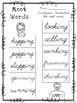 10 Cursive Root Word Worksheets. Kindergarten-2nd Grade ELA.