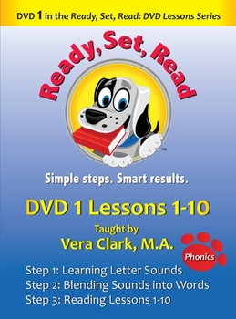 10 DVD Pack: Ready, Set, Read: DVD Lesson Series, Lessons 1-100