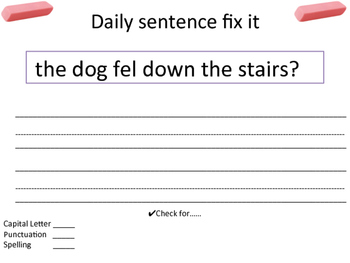 10 Daily Fix It's
