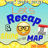 10-Day 3rd Grade Missouri MAP Test Prep / Review - NO PREP!  Uses new standards!