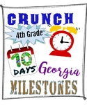 10-Day 4th Grade Georgia Milestones Test Prep: Practice for the GA Milestones