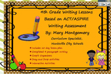 10 Day 4th Grade Writing Lessons Based on ACT / ASPIRE Assessment