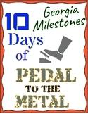 10-Day 5th Grade Georgia Milestones Test Prep: Practice for the GA Milestones