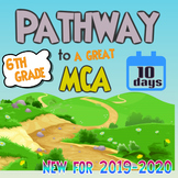 10-Day 6th Grade Minnesota MCA Test Prep / Review - NO PREP!
