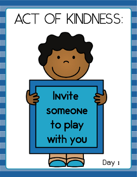 Acts of Kindness 10-Day Challenge!