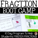 10 Day FRACTION Boot Camp- Standardized Test Prep