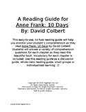 10 Days: Anne Frank - Complete Reading Guide with Vocabulary