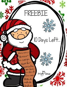 10 Days Left FREEBIE